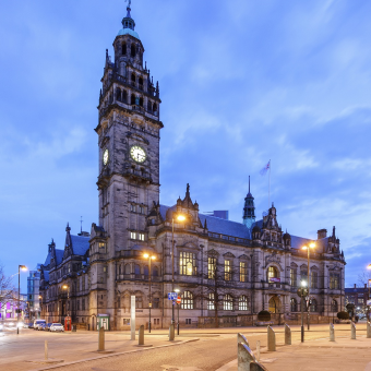 Sheffield's town hall building